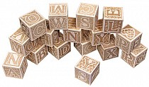 ABC Blocks, Engraved - American Made