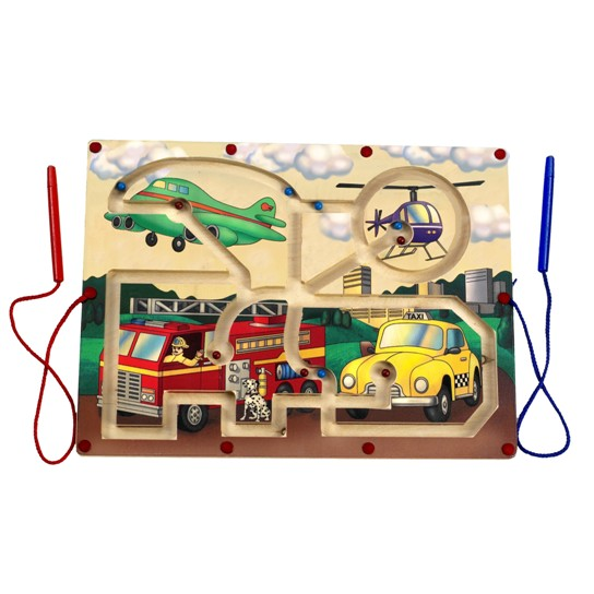 Magnetic Transportation Maze