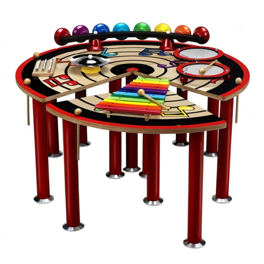 Musical Slices Of Fun Table