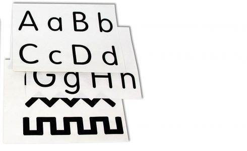 Alphabet-Number-Pattern Worksheets