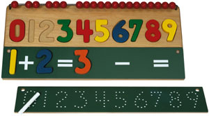 Math Skills Number Puzzle